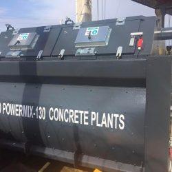 twin shaft mixers-concrete