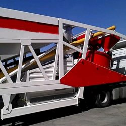mobile concrete batching plant video