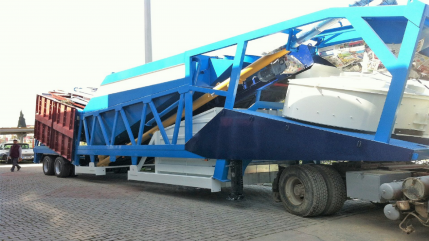 Turbomix 60 Mobile Concrate Batching Plant