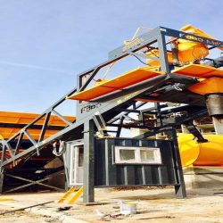 mobile concrete batching plant youtube