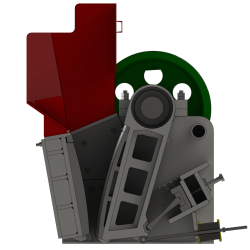 jaw crusher layout