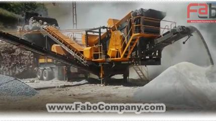 PRO-100 Mobile Crushing Plant