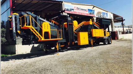 mobile sand screening plant