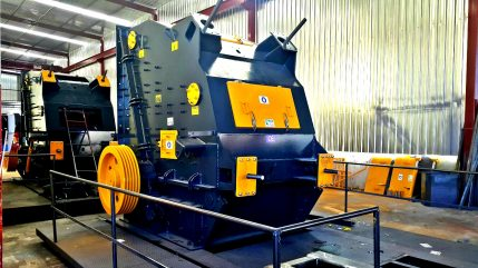 used primary impact crusher