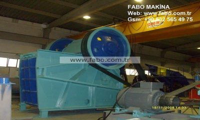 CLK 110 Jaw Crusher