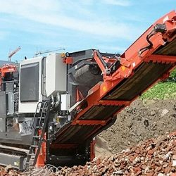 track mounted impact crusher