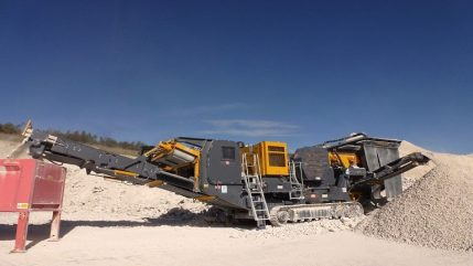 FTJ-65 Tracked Jaw Crusher