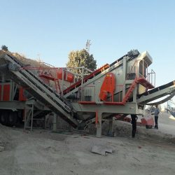 cobra track 1100 mobile crushing plant