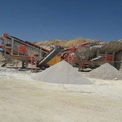 mobile crushing plant capacity