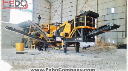 PRO-120 Mobile Crushing Plant