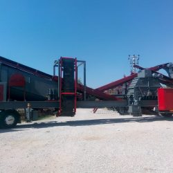 portable crushing and screening plants