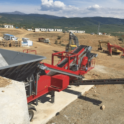 PRO-70 Mobile Crushing Plant