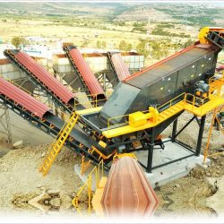 vibrating screen in cement plant