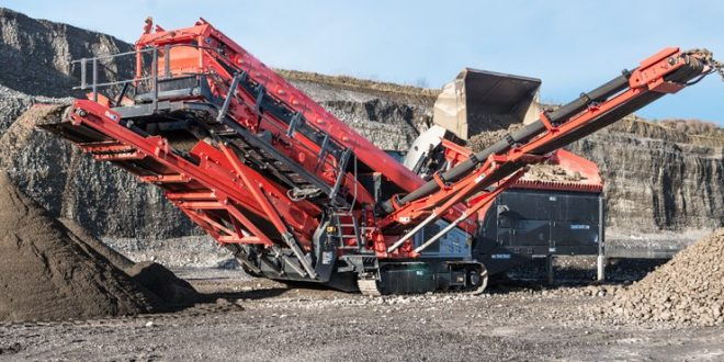 Tracked Screening Plant Fabo Machinery
