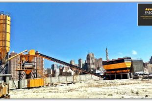 We Have Been Completed POWERMIX-130 Concrete Batching Plant Project In Alexandria/EGYPT