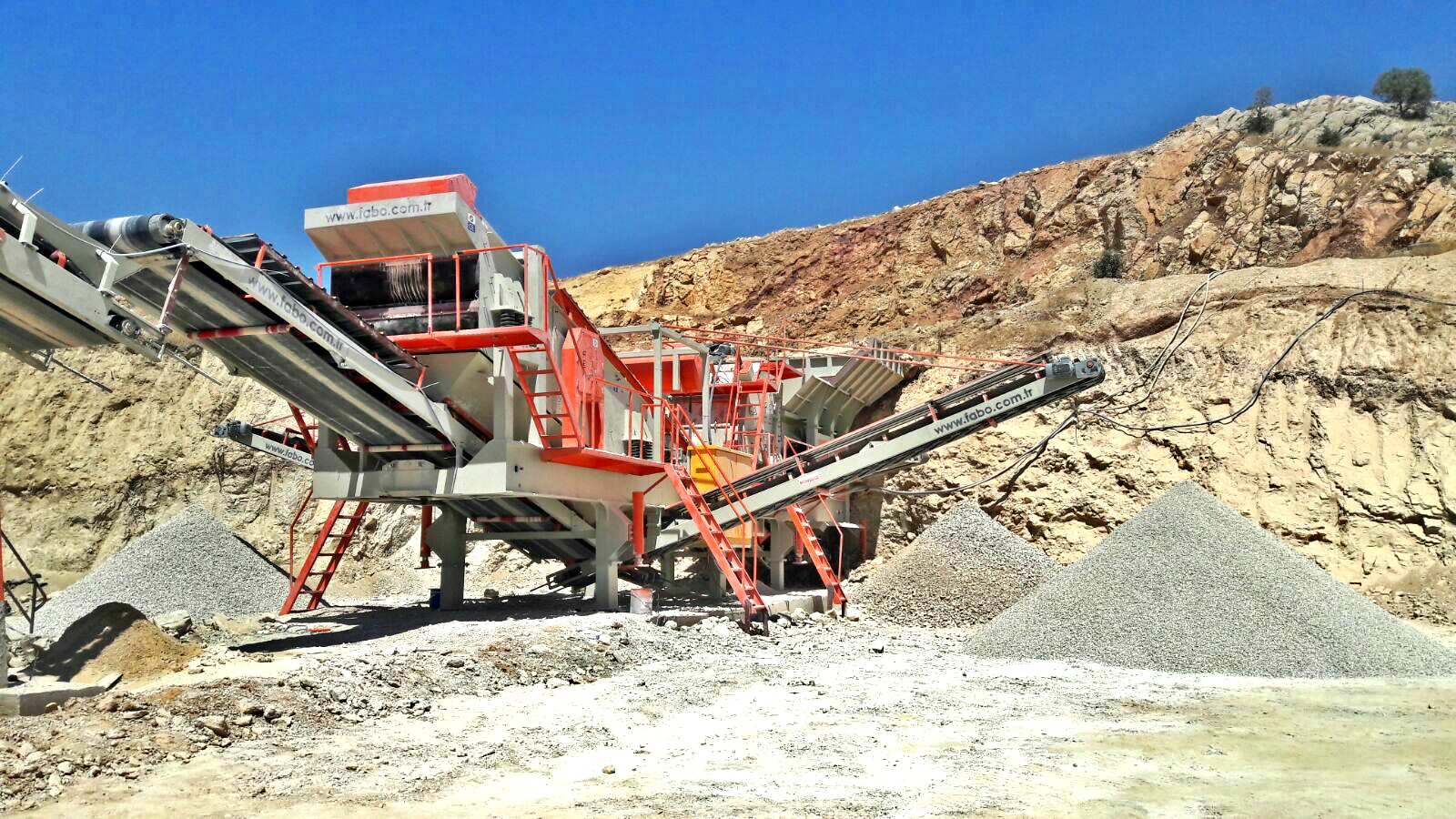 Pro 180 Mobile Crusher Plant High Capacity Crusher