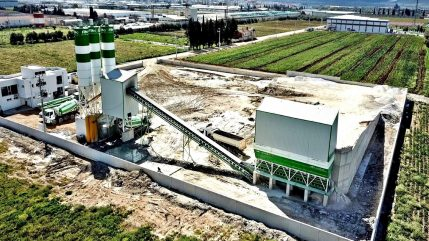 Powermix 130 m3 Concrete Batching Plant