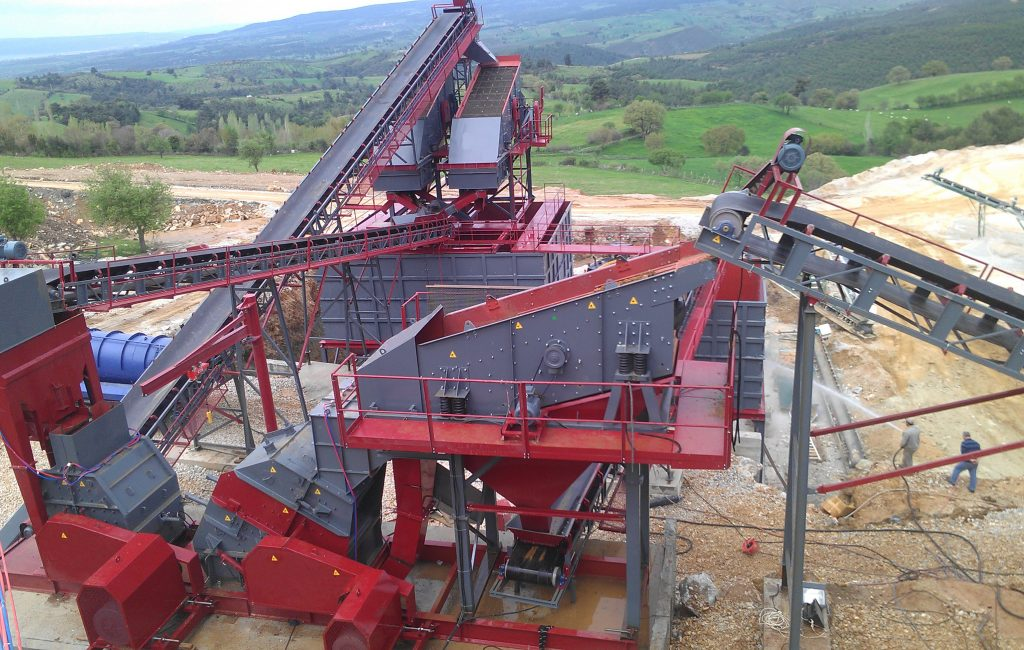 Stationary Crushing & Screening Plant