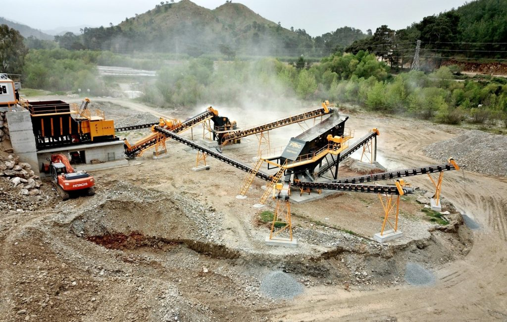 250 TPH Crushing & Screening Plant